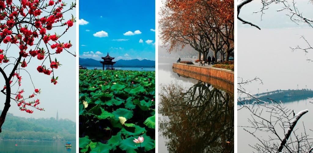 Four Seasons of Hangzhou West Lake